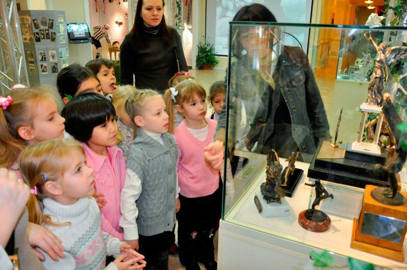 Посещение музея детьми