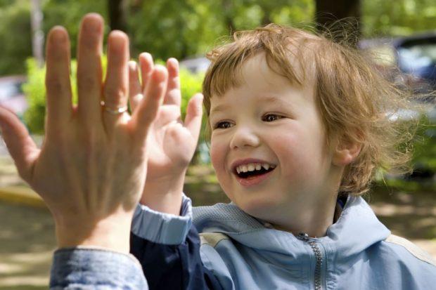 Поддержка ребенка родителями