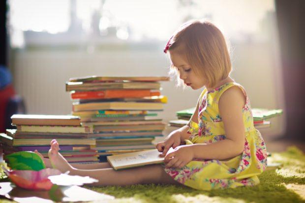 Раннее чтение по Доману для детей
