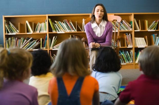 Внеклассная работа - посещение библиотеки