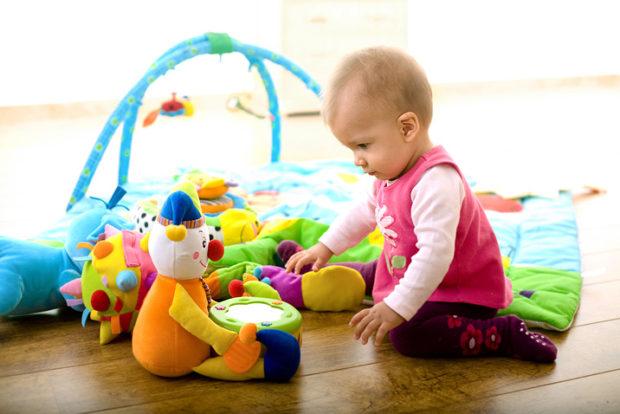 Концентрация внимания ребенка в 1 год
