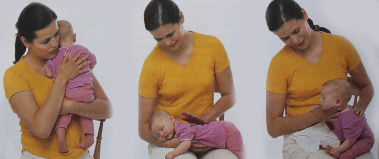 Массаж перед кормлением малыша