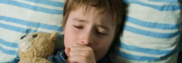 Ночной кашель у мальчика