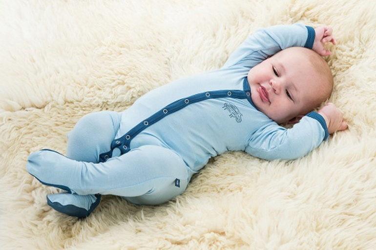Прохладные памперсы для новорожденного