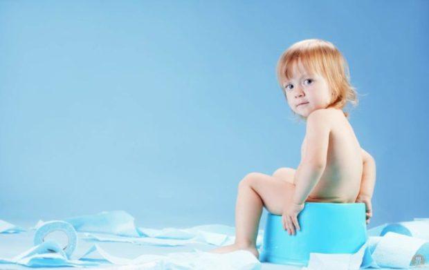 Понос и температура - признак инфекционного заболевания у ребенка