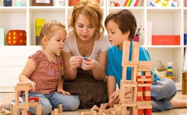 Совместные занятия с ребенком