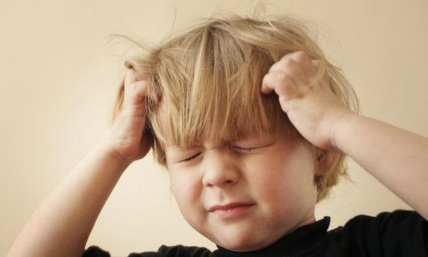 Сильная боль - первый симптом сотрясения