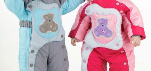 Детские комбинезоны - стильно, модно и практично