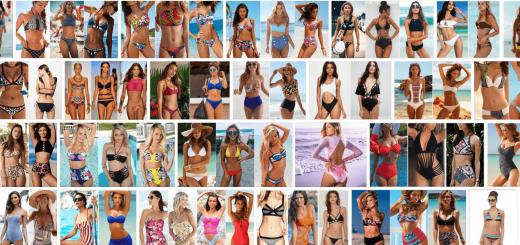 Модные купальники для пляжного сезона 2018