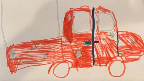 Девочка так точно нарисовала машину воришек, что их нашли полицейские