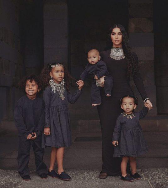 Самые популярные детки в мире - сыновья Ким Кардашьян и Меган Маркл