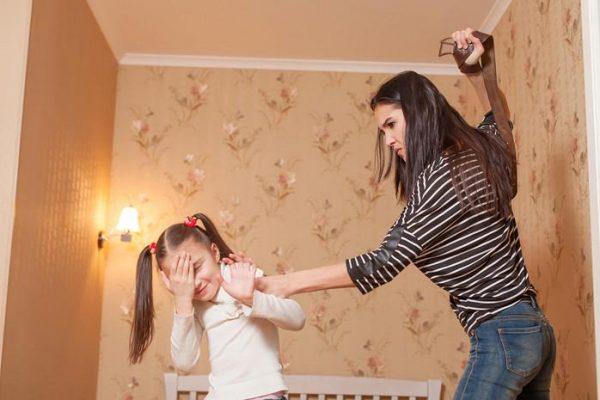 Недопустимо ребенка бить