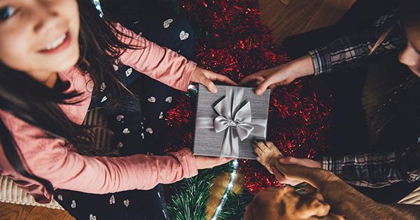 Подарок под елку