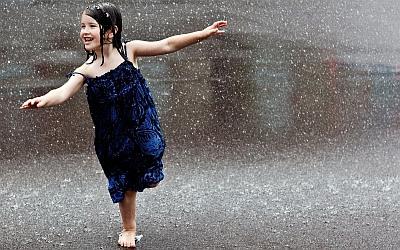 Потешка про дождь