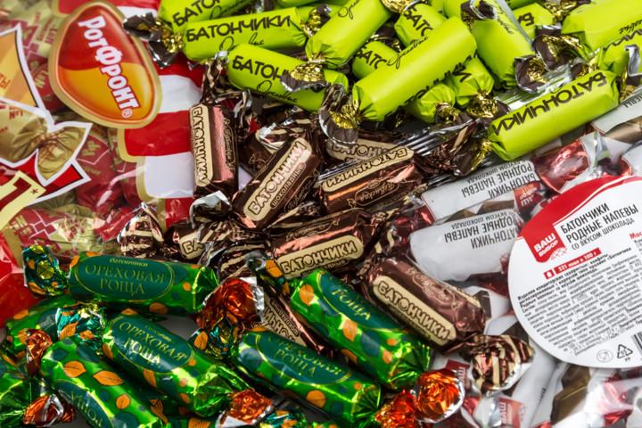 Тестирование Росконтролем конфет Батончики