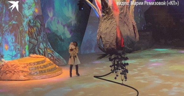 Появление годовалой дочки Заворотнюк с папой на льду довело зрителей до слез
