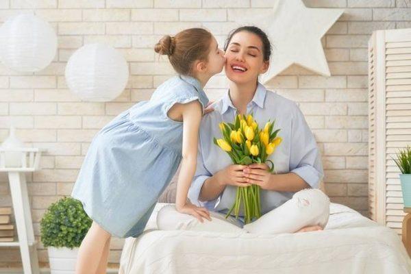Благодарность ребенка маме
