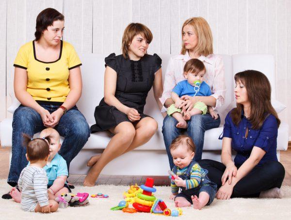 Гости в доме, где есть новорожденный