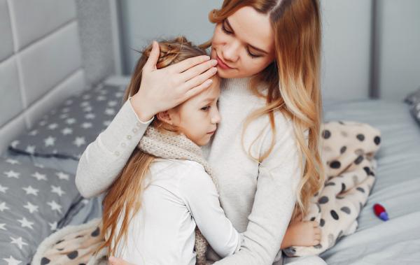 Поддержка больному ребенку