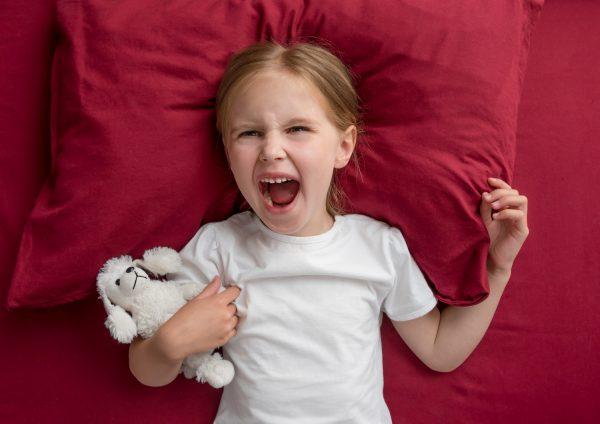 Сердитый ребенок
