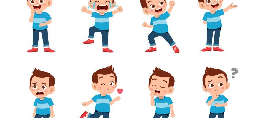Выражение детских эмоций