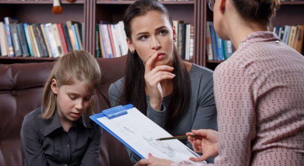 Беседа со школьным психологом