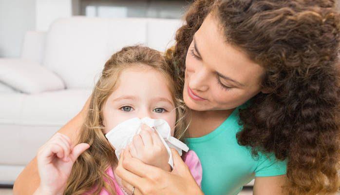 Коровотечение из носа у ребенка