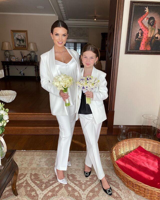 Катя Жужа и дочь Николь