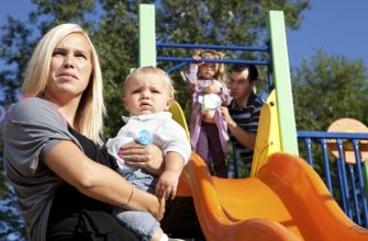 Конфликт на детской площадке