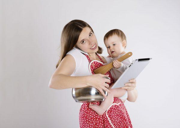 Ошибки молодых мам