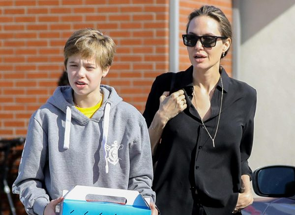 Анжелина Джоли и Шайло
