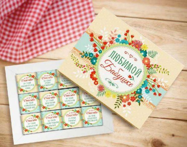 Конфеты для бабушки на 8 марта