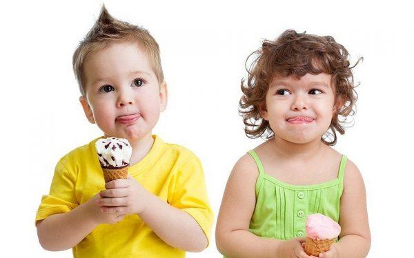 Дети и сладкое