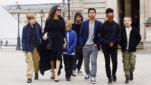 Дети Анжелины Джоли