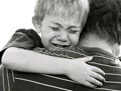 При разводе страдают дети