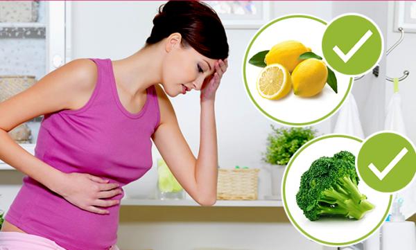 Лимон при токсикозе