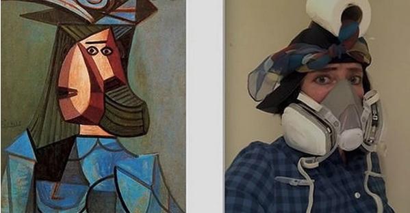 Пикассо. Портрет женщины
