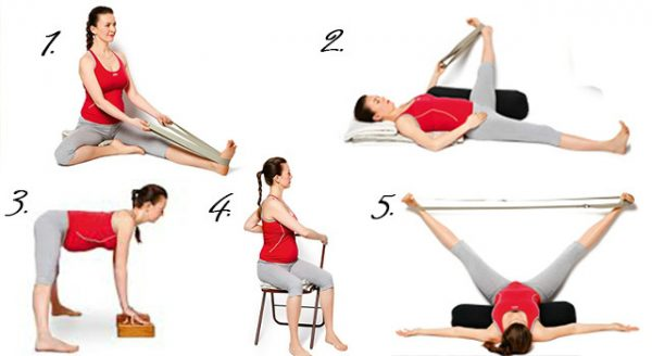 Простые упражнения для беременных