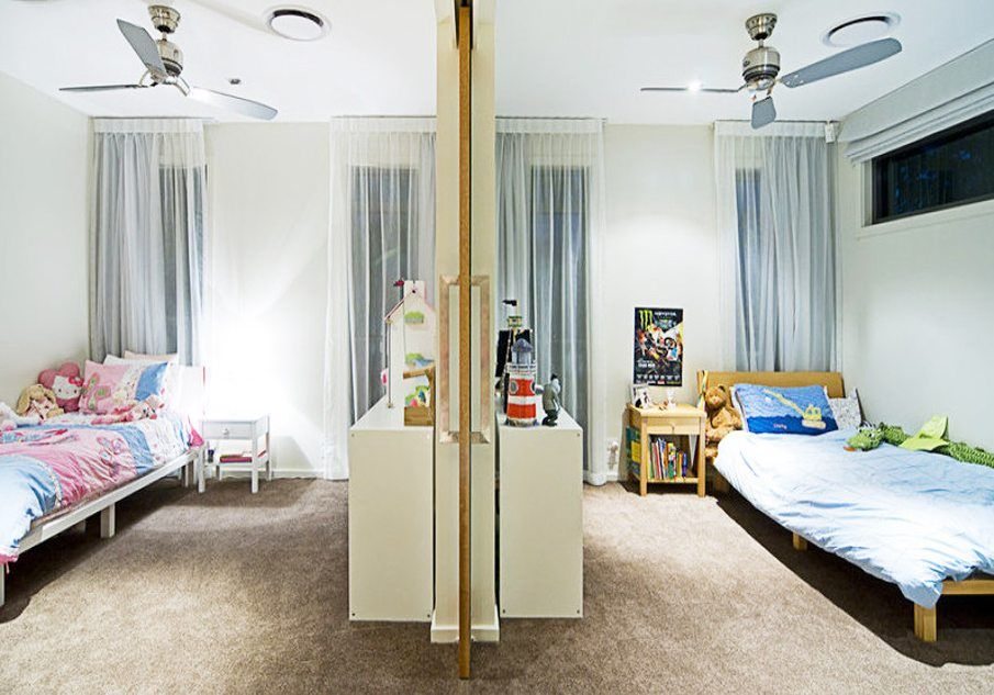 Идея оформления детской комнаты для разнополых детей8