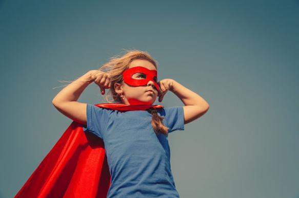 ребенок супер-герой