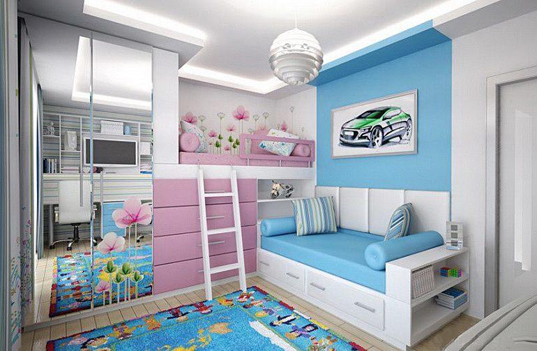 комната для разнополых детей 1