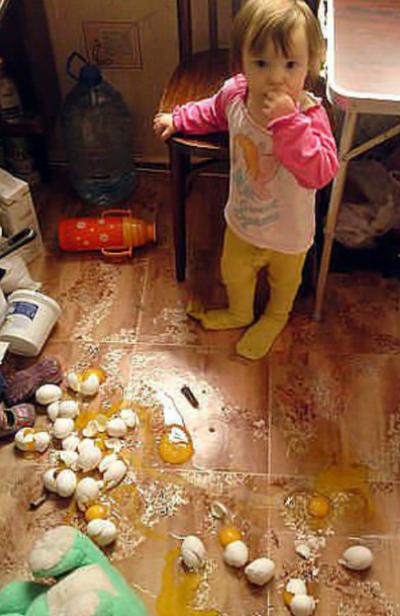 Суровые карантинные будни с детьми и питомцами продолжаются