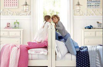 Идея оформления детской комнаты для разнополых детей3