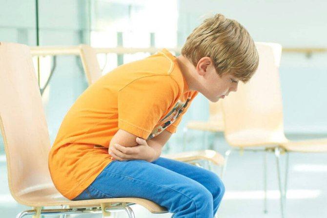 Болит живот перед школой