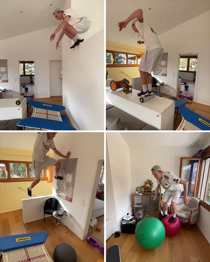 Как люди работают и развлекаются в самоизоляции дома: 26 реальных фото и 2 видео