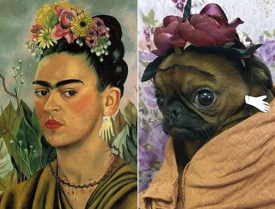 Фрида Калло. Автопортрет