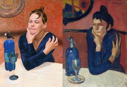 """Пикассо """"Любительница абсента"""""""