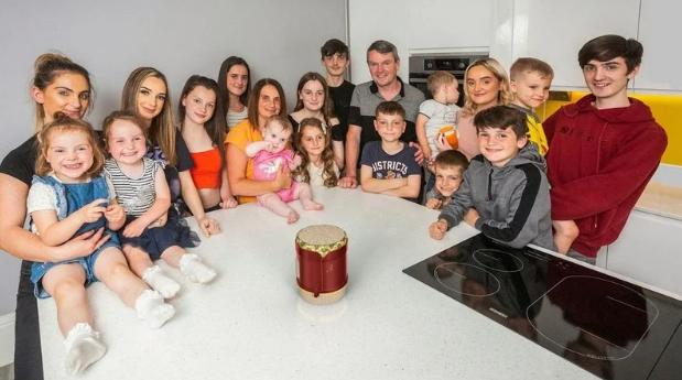 Семья Рэдфорд, 21 ребенок