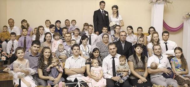 Семья Шишкиных, 20 детей