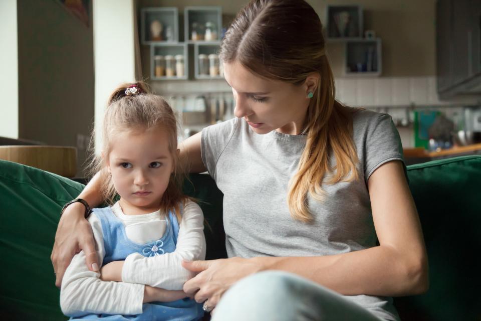 разговор с дочкой